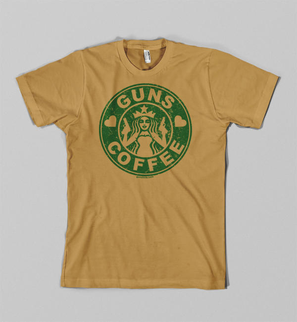 love-guns-coffee-shirt