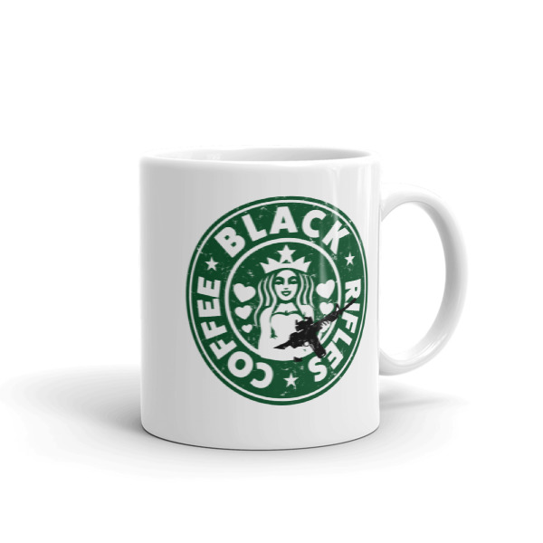 Black Coffee & Black Rifles Coffee Mugs