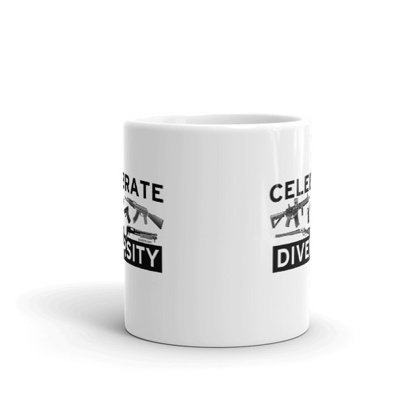 Celebrate Diversity Guns Coffee Mug