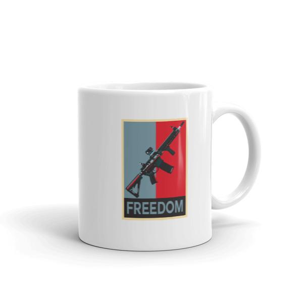 M4 Rifle Freedom Coffee Mugs