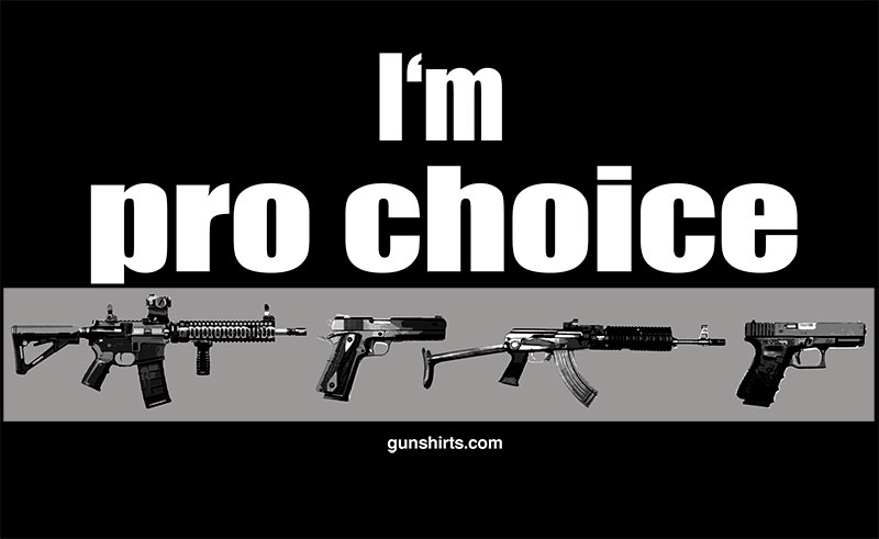pro choice guns darks design