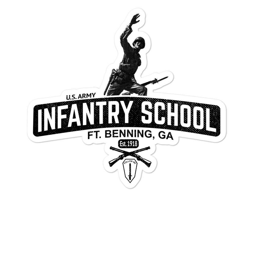 infantry-school-sticker